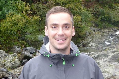 Andrew Smye, assistant professor of geosciences in the College of Earth and Mineral Sciences