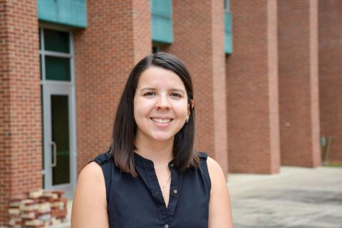 Elena Vazquez is an architecture doctoral candidate and a researcher in the Stuckeman Center for Design Computation