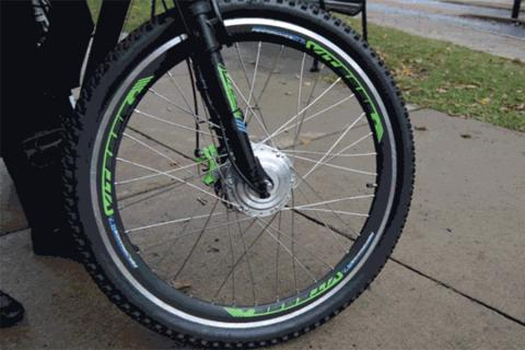 A group of Penn State students is getting charged up by converting standard bicycles to electric.