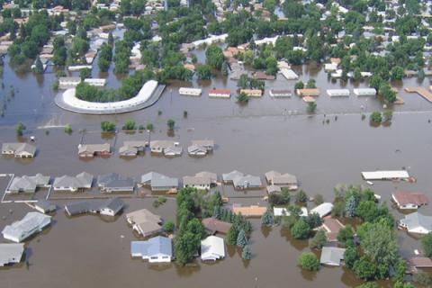 Flooding in North Dakota