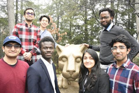 Nyansapo was one of the top 10 teams selected to move on to build an MVP in the Nittany AI Challenge.