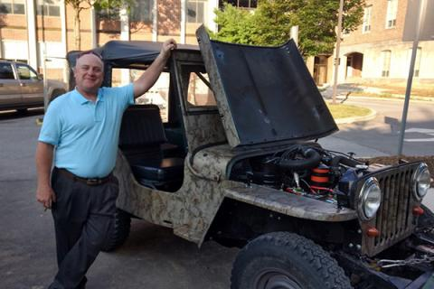 In retirement, ceramics expert John Hellmann said he'll dedicate more time to restoration and recreation of vintage Jeeps