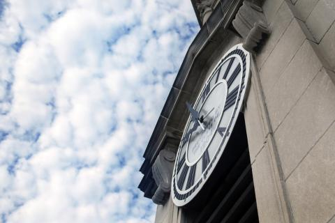 Penn State clock tower