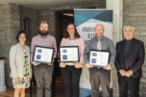 University Staff Advisory Council honors outstanding staff
