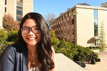 Varumporn Pimsen has been named the student marshal for the College of Earth and Mineral Sciences' fall 2017 commencement.