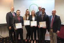 Team GreenBriq, $7,500 winners of the Ag Springboard 2019 business pitch competition