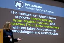 The Institute for CyberScience (ICS) will bring two acclaimed researchers to Penn State in spring 2018.