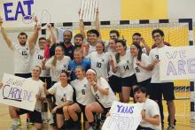 The Penn State women's handball team won the national championship in its first season.