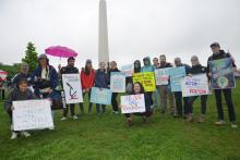 Members of WE ARE for Science organized buses to Washington, D.C., taking about 130 Penn Staters to the science march in 2017.