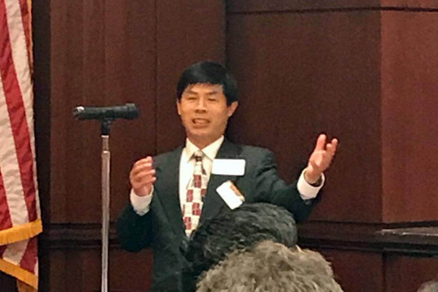 Penn State researcher Fuqing Zhang
