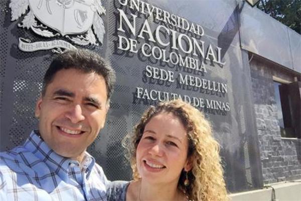 Luis Ayala and Zuleima Karpyn
