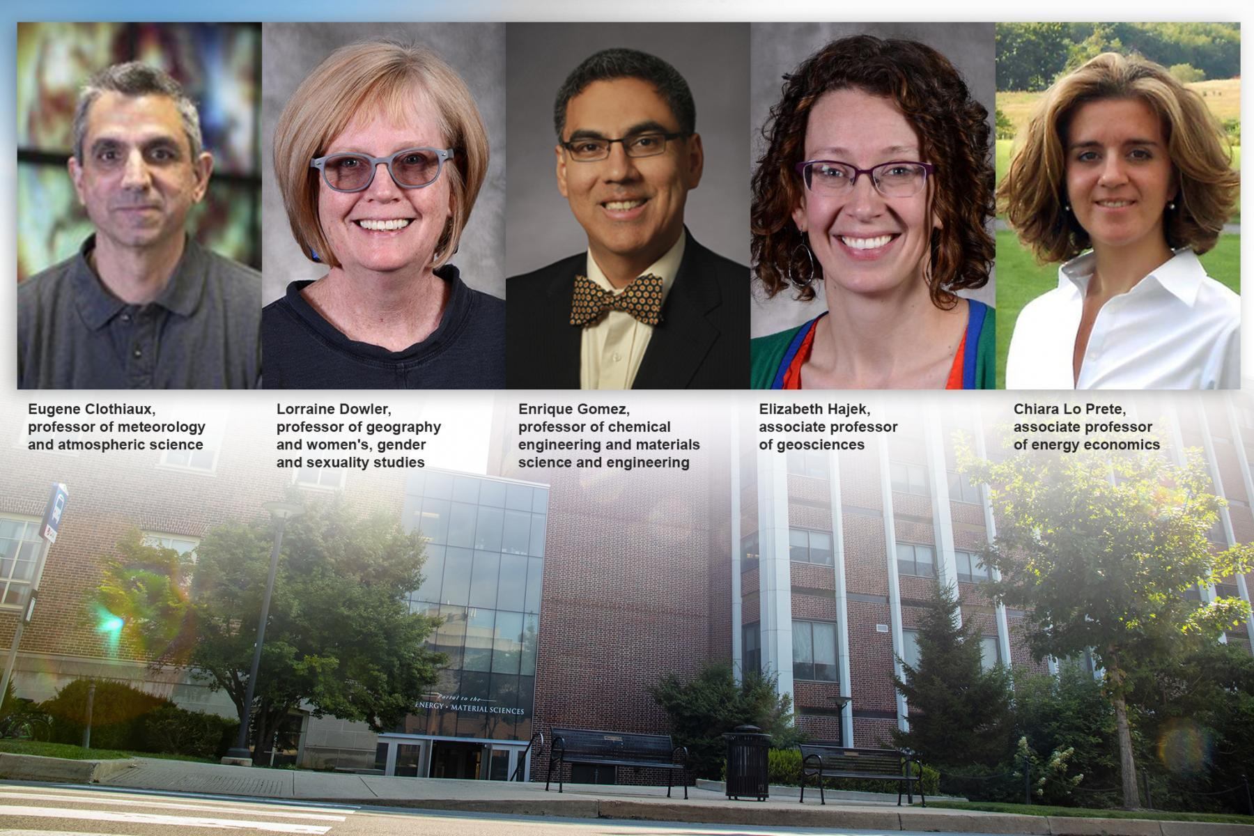EMS faculty will serve as associate heads for diversity, equity and inclusion in the college's five departments