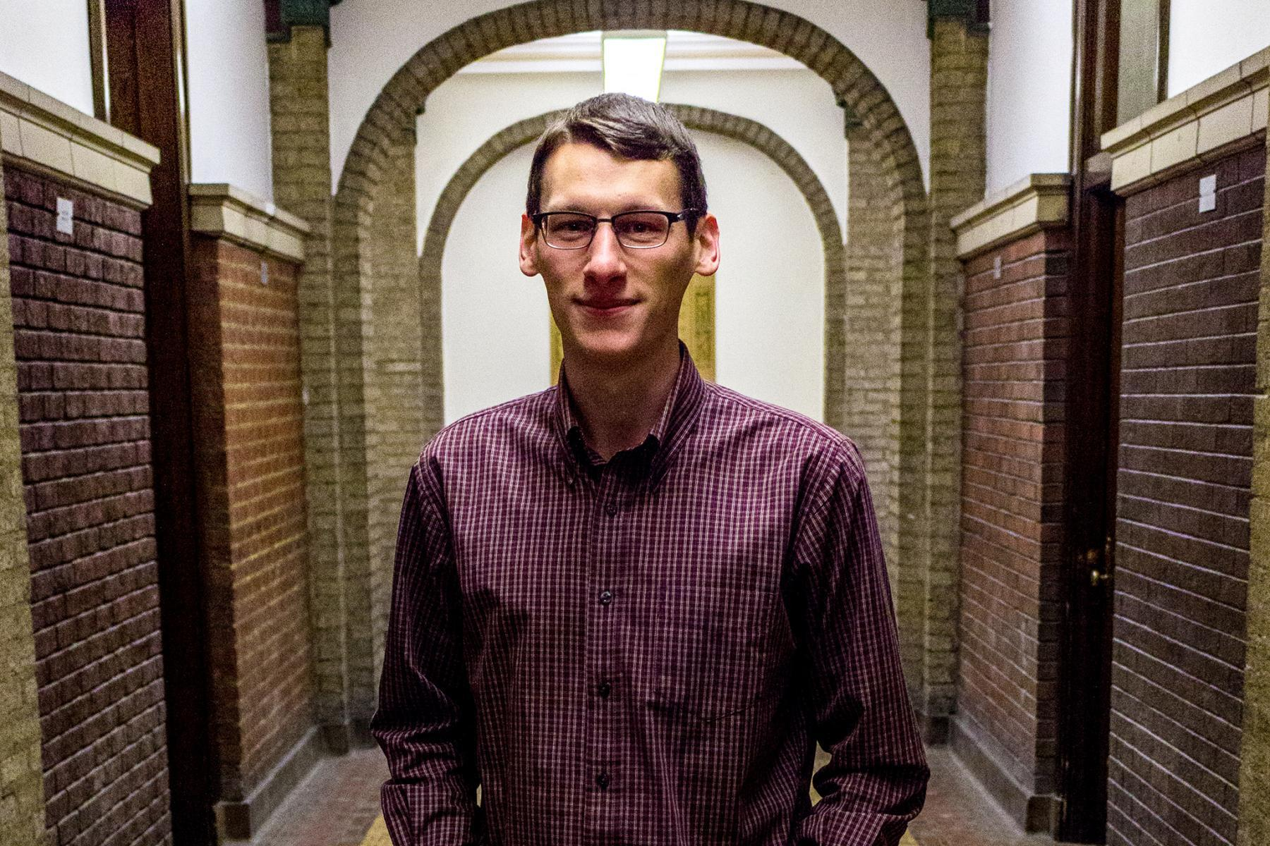 Penn State doctoral student John Shimanek