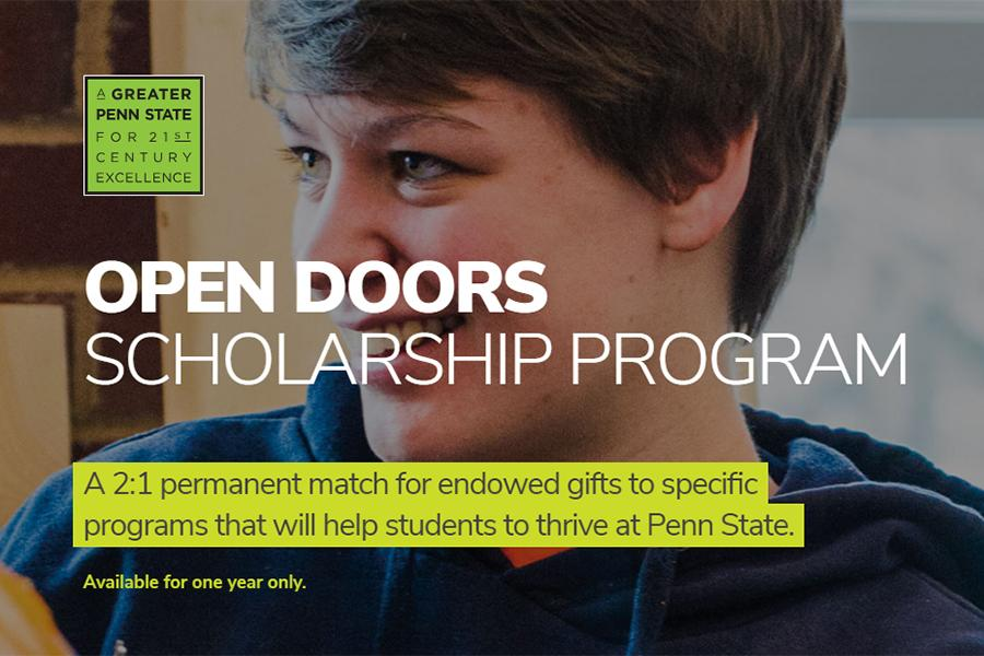Open Doors Scholarship Program