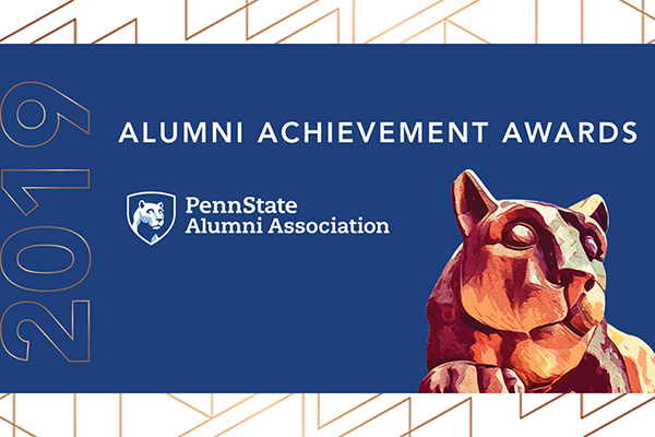 The Penn State Alumni Association will honor prominent young alumni at the Alumni Achievement Awards on March 29.