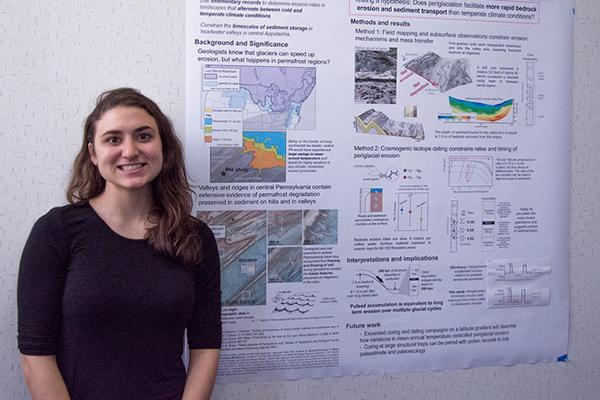 Joanmarie Del Vecchio, Ph.D. student in geosciences