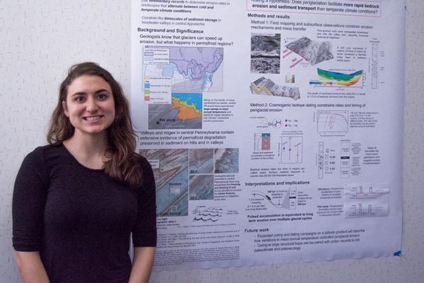 Joanmarie Del Vecchio, Ph.D. student in geosciences