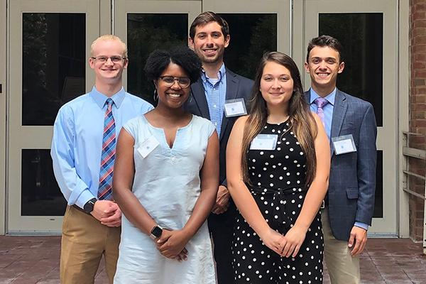 NOAA Hollings Scholars from Penn State's College of Earth and Mineral Sciences