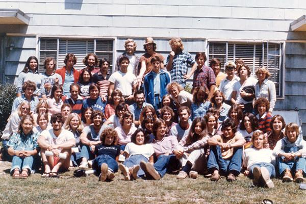 Students who attended Al Guber's 10-week Wallops Island course in 1977 recently created the Al Guber Program Fund in his honor.