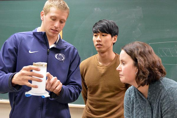 Meteorology students hands-on project
