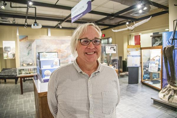 Jane Cook is the new director of the Earth and Mineral Sciences (EMS) Museum & Art Gallery