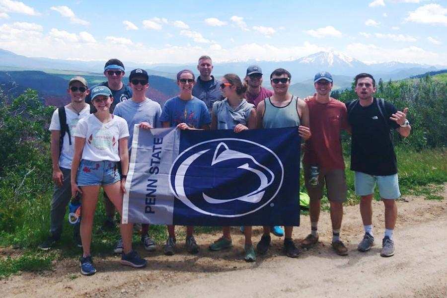 Penn State students participating in the 2019 CAUSE course in Glenwood Springs, Colorado.