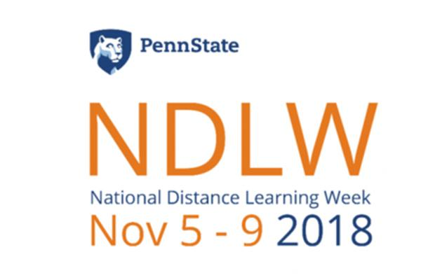 Online learning experts from Penn State will share their best practices Nov. 5-9 during National Distance Learning Week.