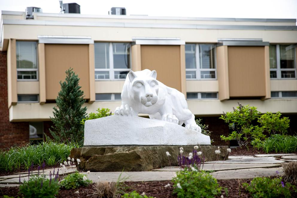 Penn State New Kensington lion shrine