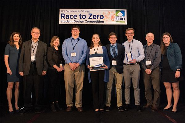Penn State Race to Zero Student Design Competition team