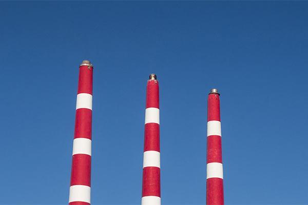 Emission towers