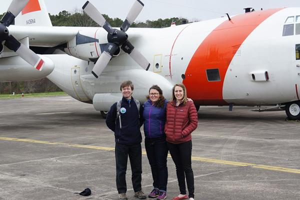 Recent Penn State graduates earn wings in airborne research project