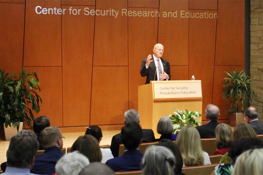 James Clapper at CSRE event