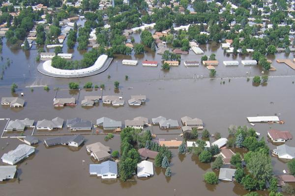 Flooding in North Dakota
