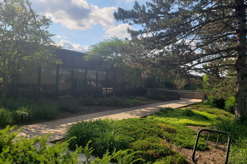 Penn State's Sustainability Institute, located in the Land and Water Research Building