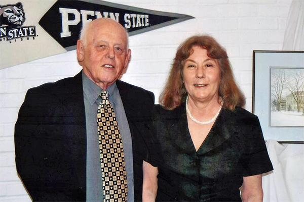 Peter and Carol Thrower