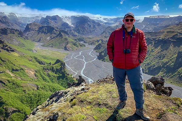 Penn State junior Gabriel Schaefer toured Iceland on a May 2019 trip as part of the GREEN Program.