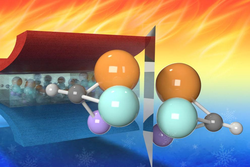 Chiral (mirror) molecules give relaxor ferroelectrics their amazing properties.