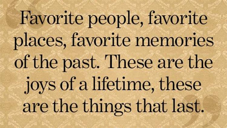 Send your favorite memories