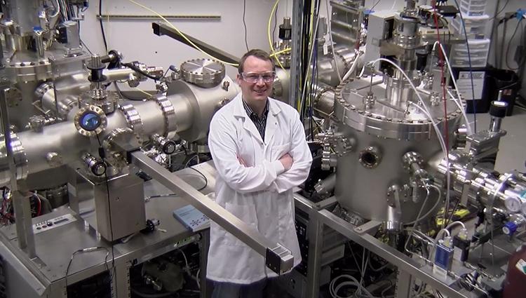 Research lab tour