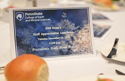 Staff Appreciation Awards Luncheon